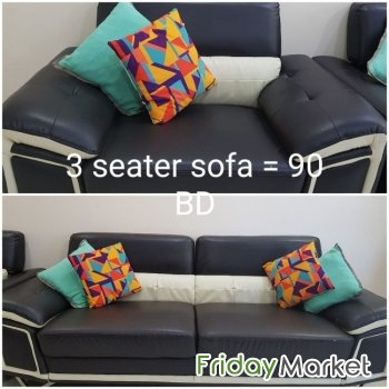 4 seater sofa set in a good condition for sale for 90 BD ...