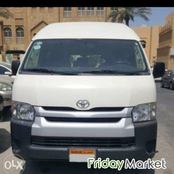 toyota hiace cargo van high roof 2014 model for sale in bahrain Toyota Hiace 2014 photo gallery