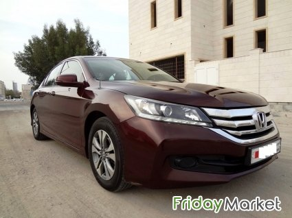 HONDA ACCORD MID OPTION AVAILABLE ON INSTALLMENT OR CASH in Bahrain