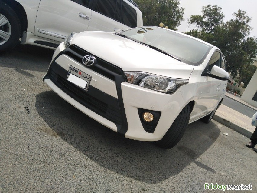 2015 TOYOTA YARIS 1.5 HATCHBACK... Full Insured.. Lady Driven Manama Bahrain