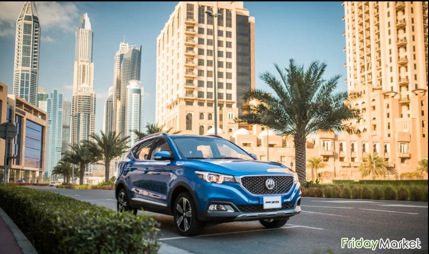 NEW , Not Used, Not Registered MG ZS - 2019 From Zayani M Blue Color Manama Bahrain