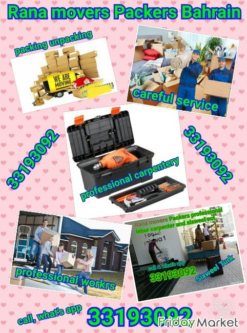 Movers Packers Professional Lebur Carpenter And Sixweel Truck Service Juffair Bahrain