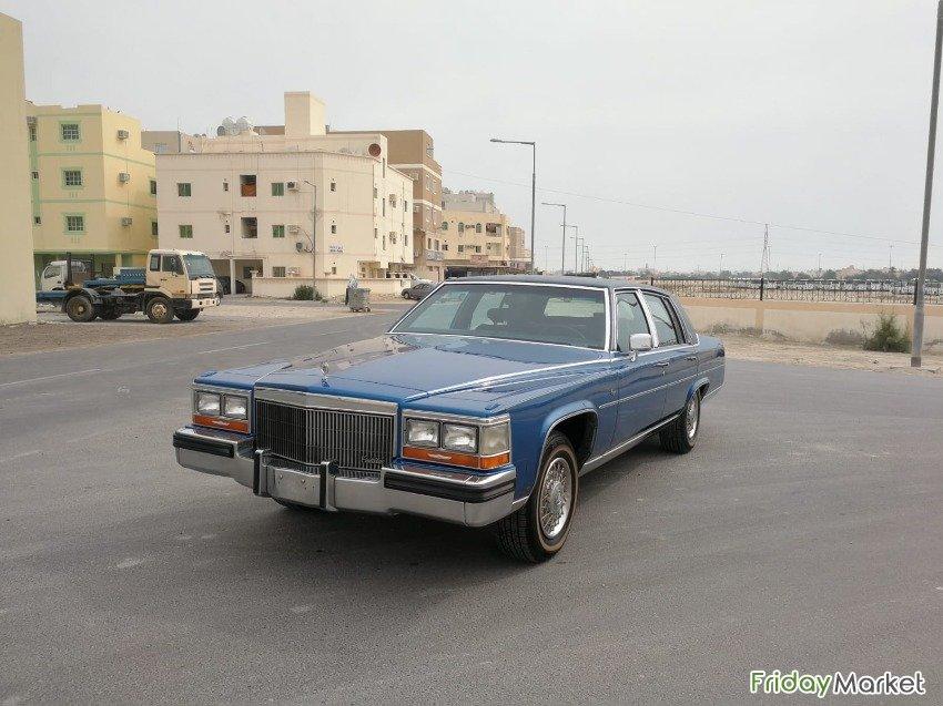 Cadillac Fleetwood 1989 (Blue) in Bahrain - FridayMarket