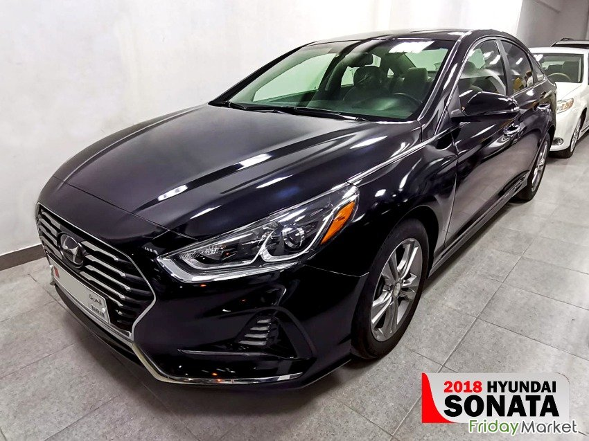 2018 HYUNDAI SONATA MID OPTION LOW MILEAGE VERY CLEAN AND GOOD Hamad Bahrain