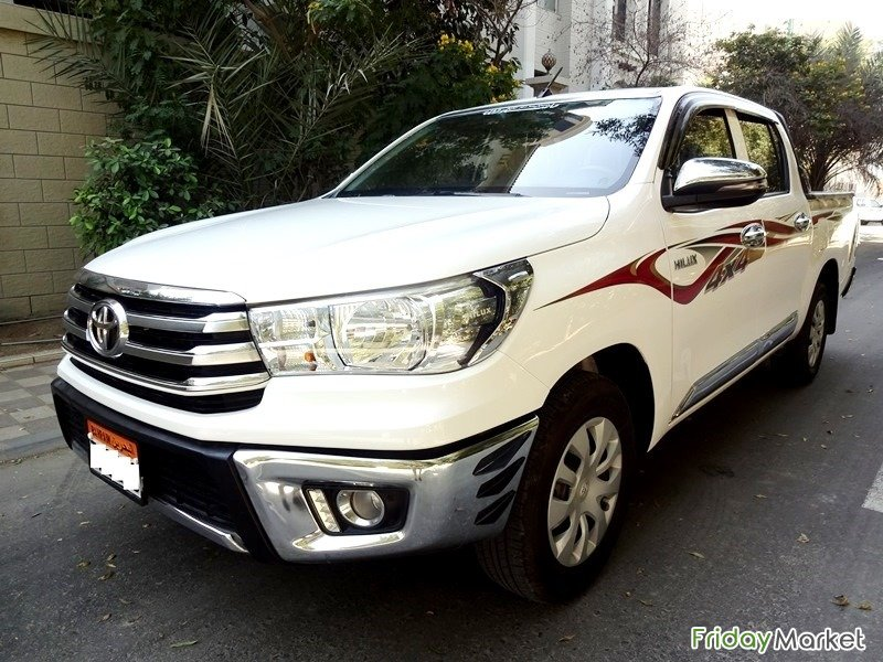 TOYOTA HILUX 2.0 L,White Colour,2018 Model Manama Bahrain